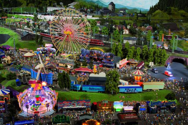 Kirmes in Mitteldeutschland - Quelle: Miniatur Wunderland