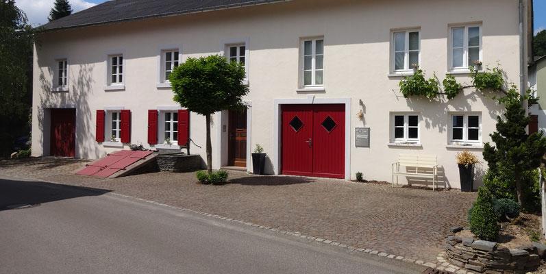 Weinprobe: Abschluss im Winzerhaus