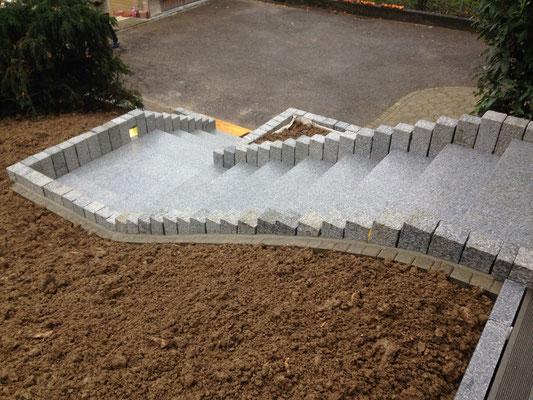 Escalier - granit