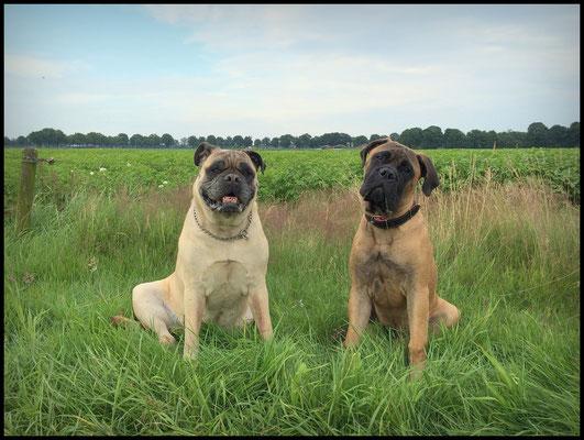 Lana en Neeltje