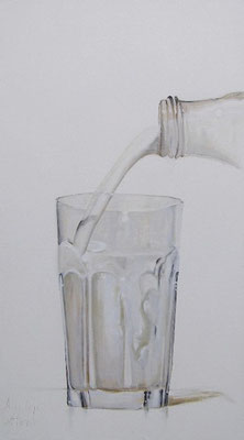 MELK!/MILK! | oil on linen | 70x125cm