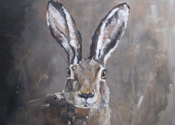 Haas/Hare | oil on linen | 140x110cm