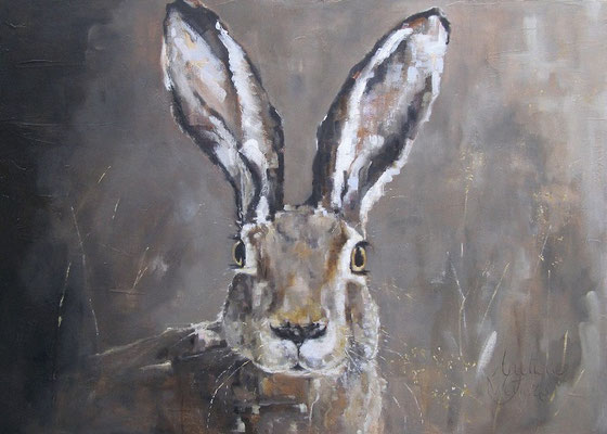 Haas/Hare | oil on linen | 140x110cm