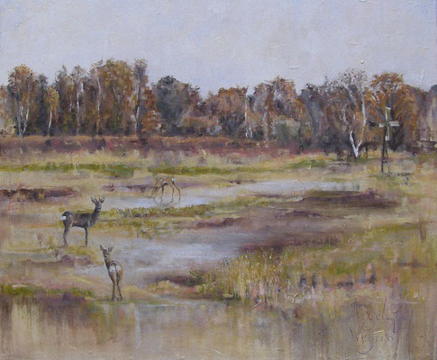 Giethoorn/Giethoorn | oil on linen | 120x100cm