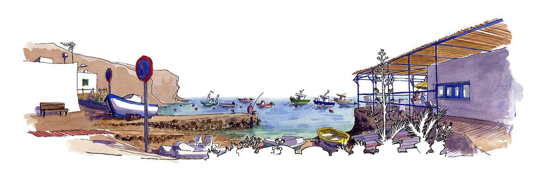 Muelle de la Isleta.
