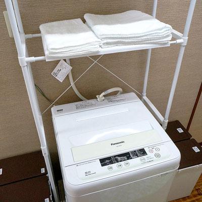 石垣島のリゾートバイトの「寮」付属洗濯機