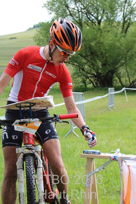 MTBO Worldcup 2016 France Middle