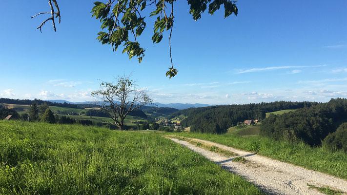 Richtung Ursenbach