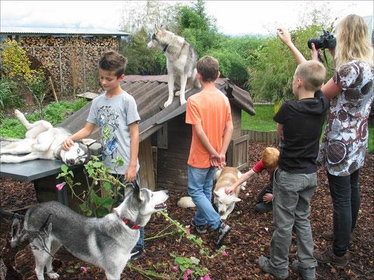 Kinderparty feiern