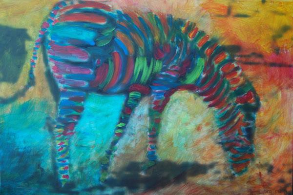 zebra  120/80 cm   € 950,-