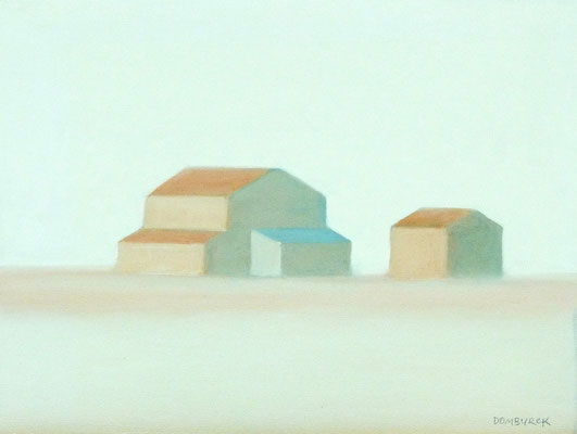FORTY DEGREES, Oil on canvas, flat, not on frame, Size: 47,5 x 35,7 cm, unframed