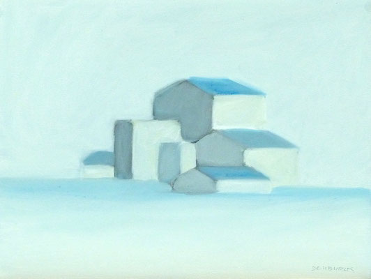SUNFREEZE, Oil on canvas, flat, not on frame, Size: 47,5 x 35,7 cm, unframed
