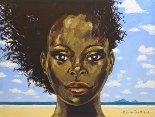 Girl with Grenadian Passport, SOLD