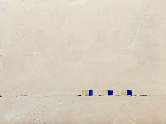 ENDLESS JOURNEY, Oil on paper, Size: 48 x 36 cm, unframed
