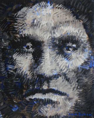 MANGAS - MIMBRENIO 1863 / 2008, Acryl on paper, Size: 47,5 x 59 cm, framed