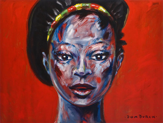 Girl with Pepper Spray,  SOLD