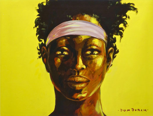 Girl with a Gold Medal