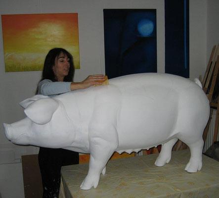 -Atelier-Marion Haas-Malen für einen -guten- Zweck-