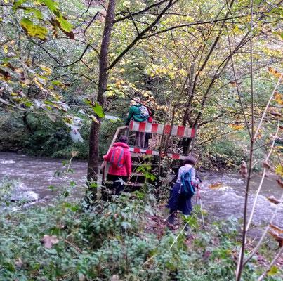 Kritische Flussüberquerung