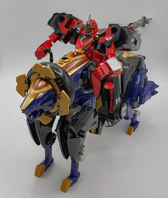 CB-01 Ace/Go-Buster Ace riding Buster Animal LT-06