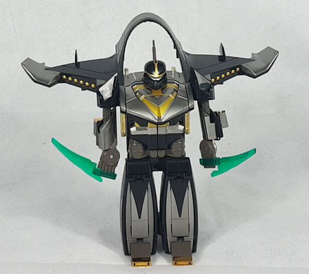 Time Shadow Megazord Black Edition