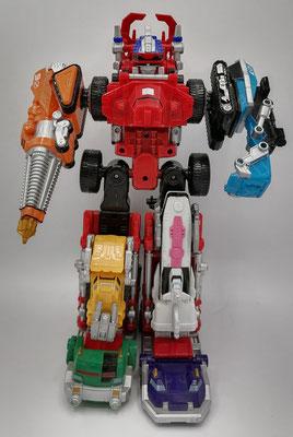 Super Drivemax Megazord / Super DaiBouken