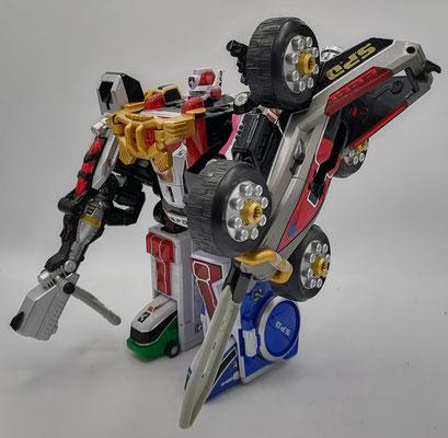 Deka Ranger Robo Full Blast