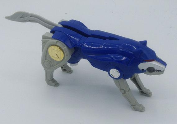 Blue Wolf Ninjazord / God Logan