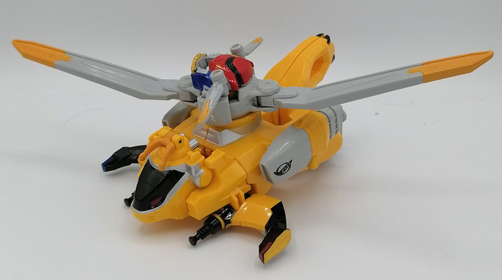 Chopper Zord Linked Mode / Buster Machine RH-03