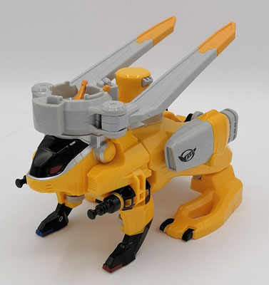 Chopper Zord Jackrabbit Mode / Buster Animal RH-03 Rabbit