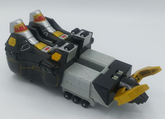 Black Bison Wildzord / GaoBison (Electrical Version)