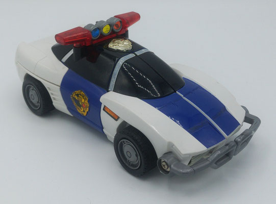 Robo Racer Patrol Car Mode / Sirender Patrol Car Mode