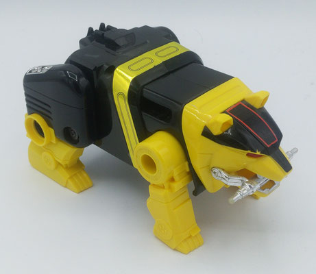 Yellow Bear Ninjazord / God Kumard