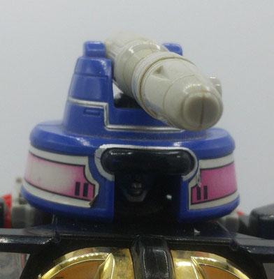 Zeo I Battle Helmet: Cannon Mode / Cannon Head