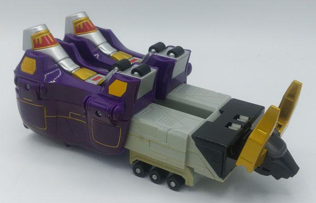 Purple Bison Wildzord (Electrical)
