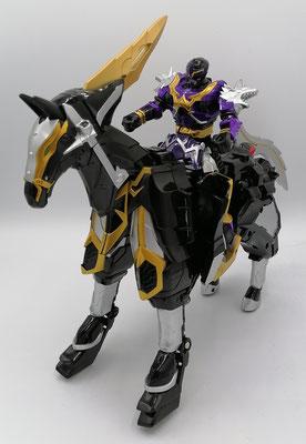 Wolzard riding Catastros