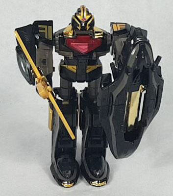 Time Force Megazord Black Edition