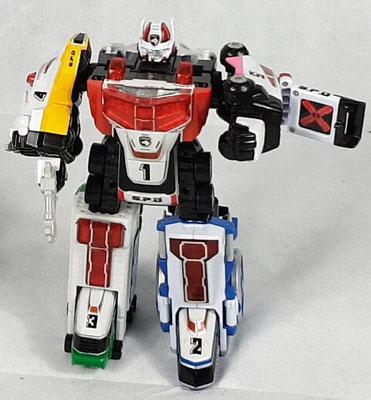Delta Squad Megazord (Jap.)