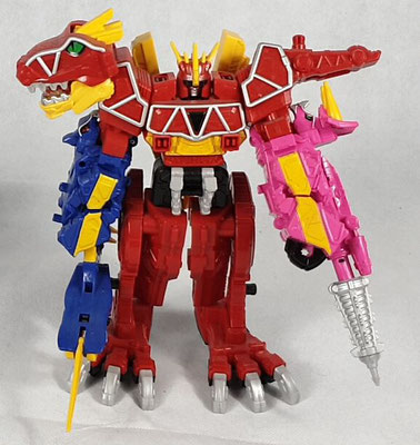 Dino Charge Megazord Tri-Stego Formation
