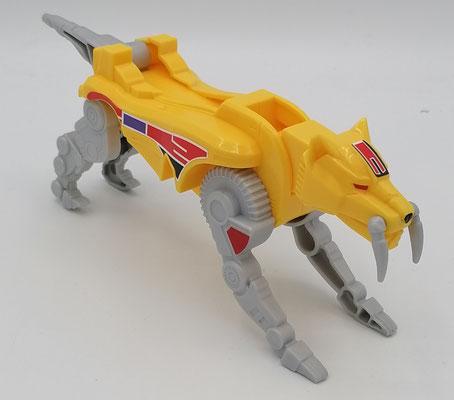 Saber-Toothed Tiger Dinozord / Guardian Beast SaberTiger