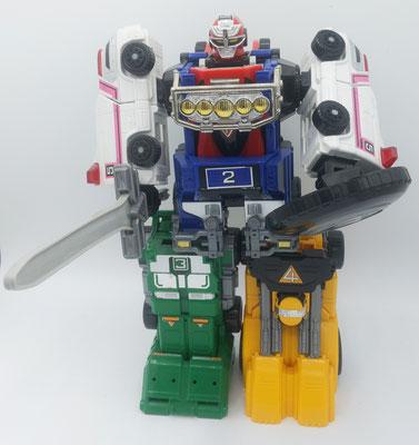 Rescue-Turbo Megazord / Scramble Intersection Robo