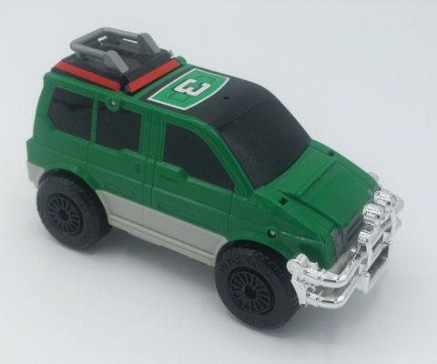 Desert Thunder Turbozord 3 / Green Vehicle