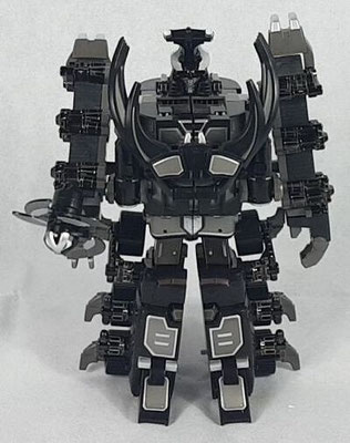 Thunder Megazord Black Edition