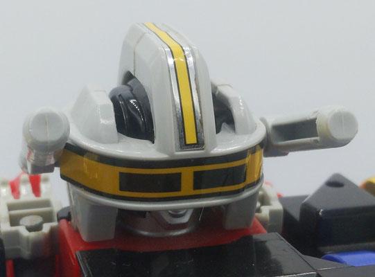 Zeo II Battle Helmet: Rocket Mode / Vulcan Head