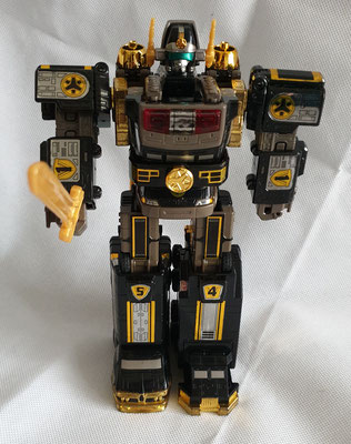 Lightspeed Megazord Black Edition