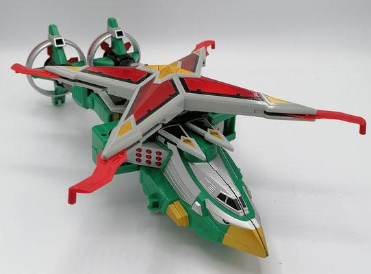 Samurai Star Chopper / Shinobi Machine Tenkuujin