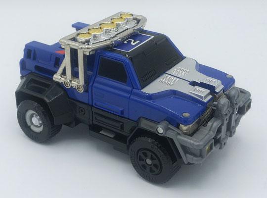 Mountain Blaster Turbozord 2 / Blue Vehicle