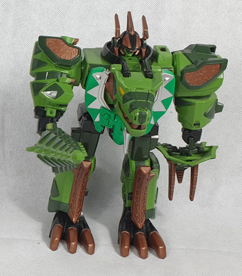 Thundersaurus Megazord Green Edition
