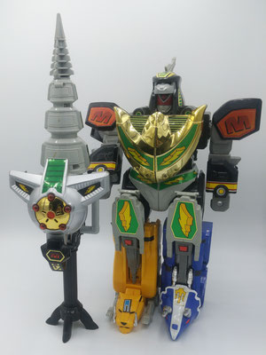Dragonzord Battle Mode / Gouryuuzin