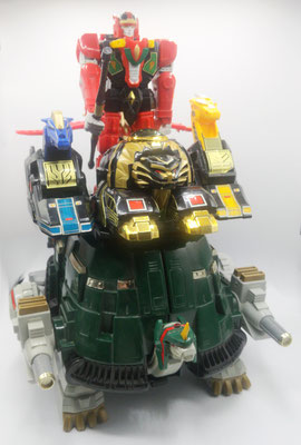 Thunder Ultrazord / Heavy Armor Chi Palace (Phase 2)